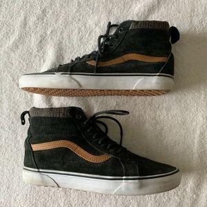 Vans Old Skool Reissue Black Brown Sneakers
